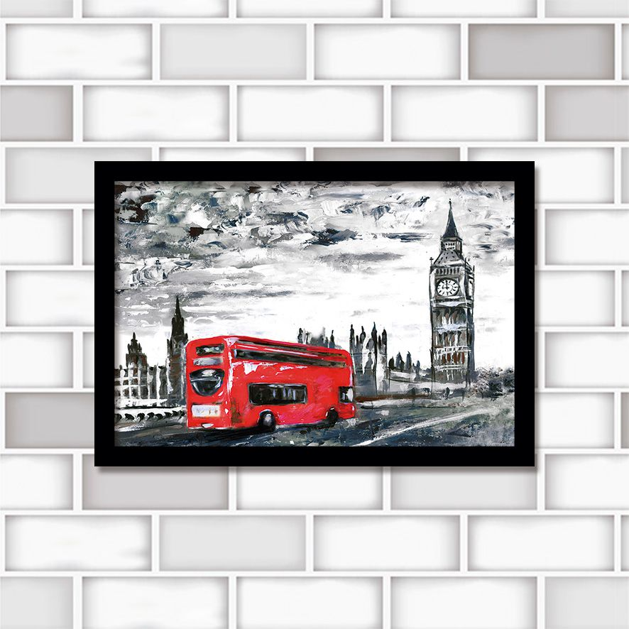 Poster Decorativo London PL418