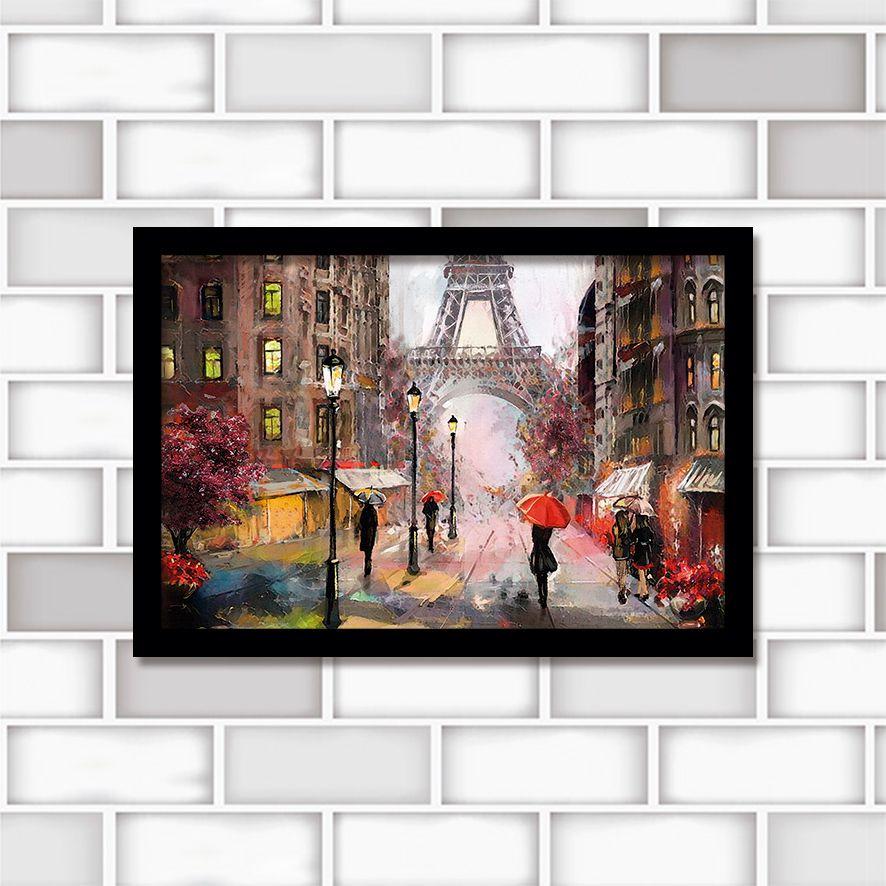 Poster Decorativo Paris PL433