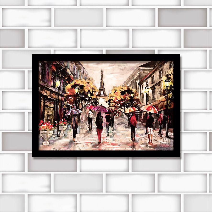 Poster Decorativo Paris PL437
