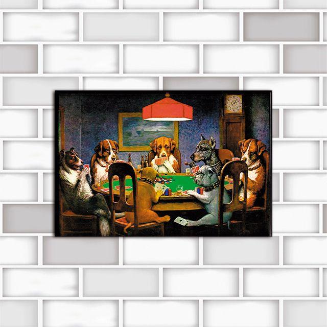 Poster Decorativo Pocker Dogs PL295