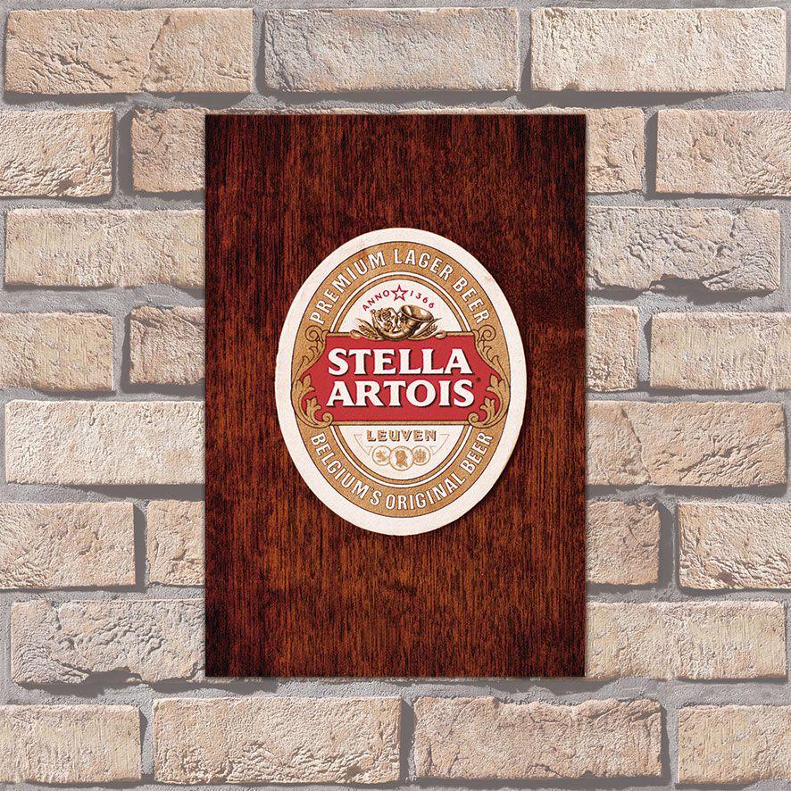 Poster Decorativo Stella Artois PL004