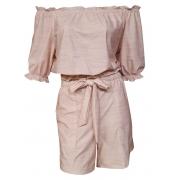 Blusa Dioxes feminina cigana rosa