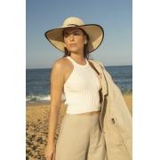 Blusa Dioxes feminina tricot verão cava haglan modal