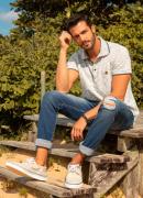 Camisa Polo Dioxes masculina verão