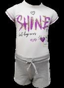 Conjunto Dioxes infantil feminino Shine