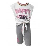 Conjunto Dioxes infantil feminino verão