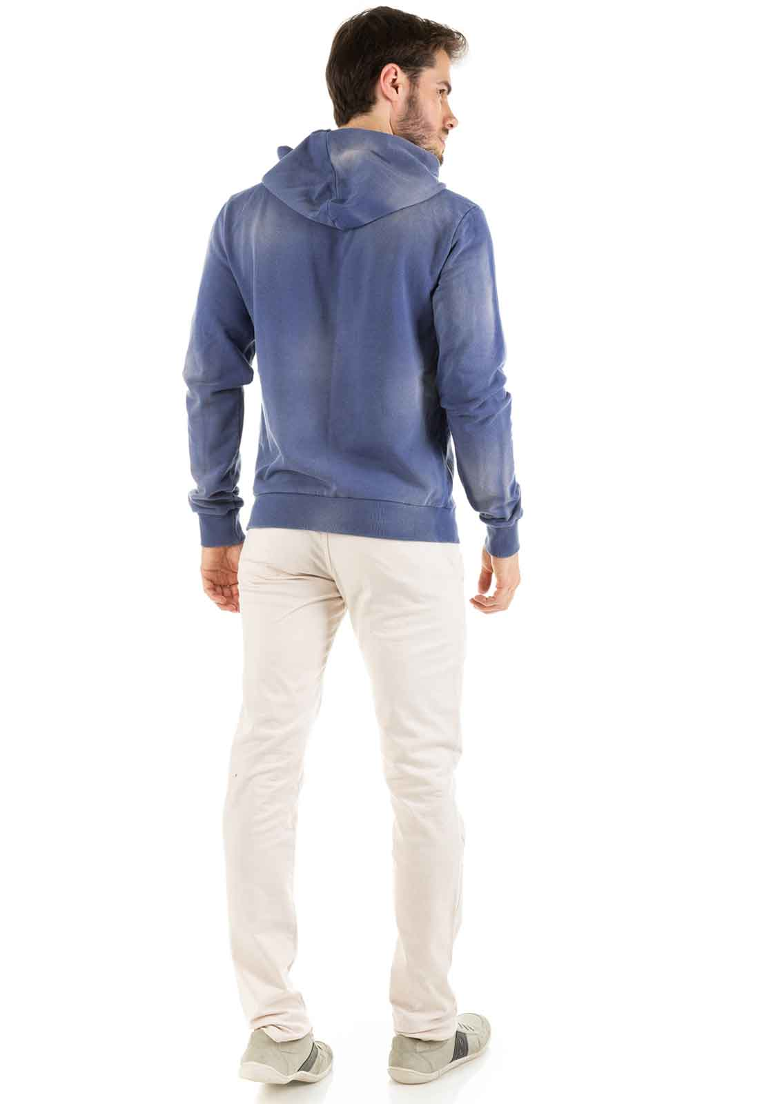 Calça Sarja Dioxes Masculina Cintura Média Alfaiataria com Bolso Frontal Faca e Traseiro Embutido