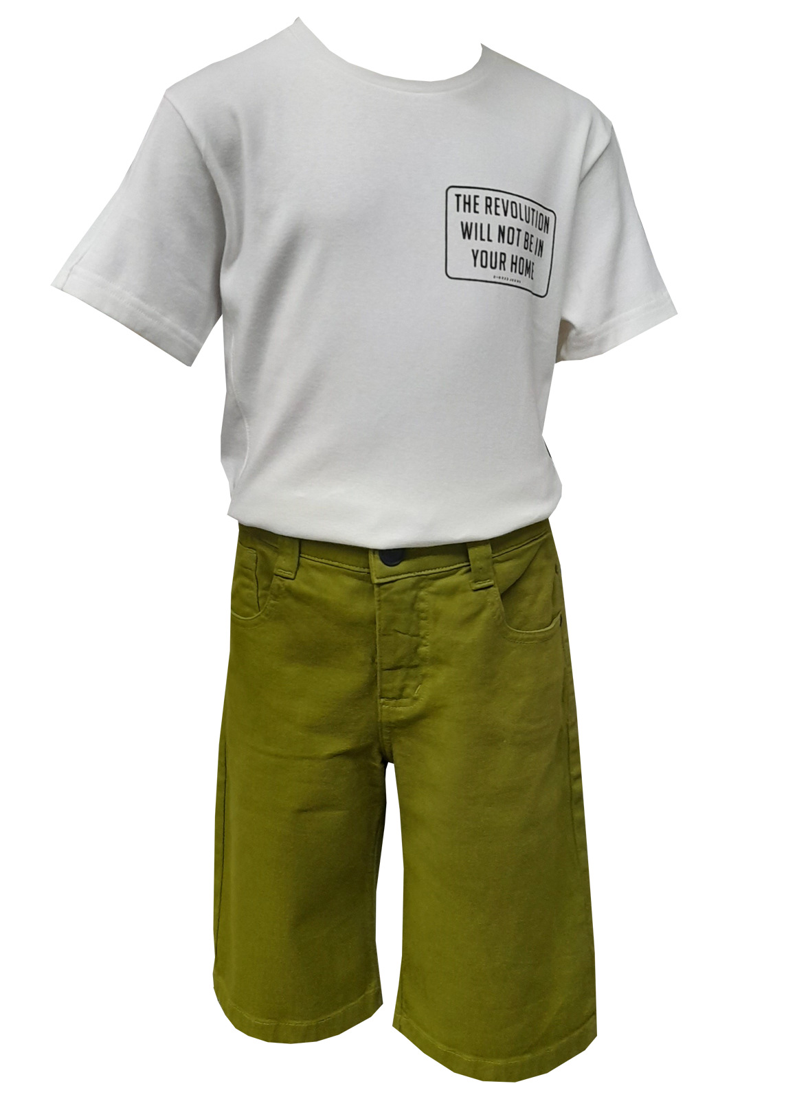 Camiseta Dioxes malha infantil masculina
