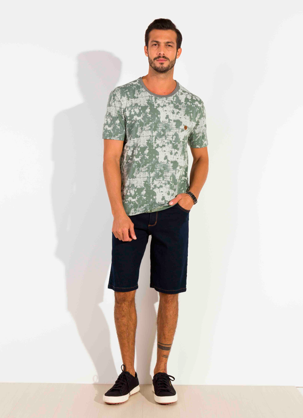 Camiseta Dioxes masculina verão estampada