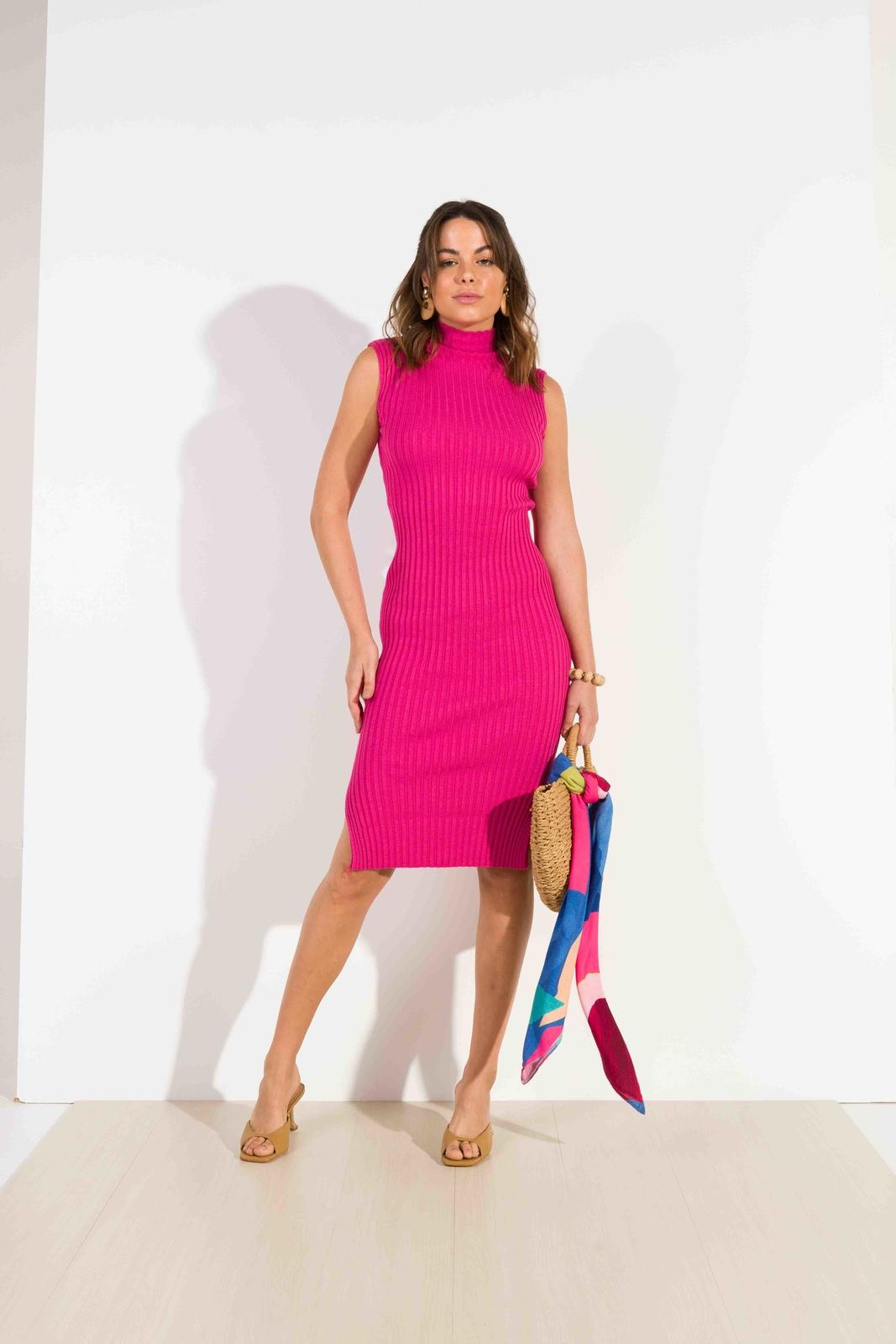 Vestido Dioxes feminino tricot modal