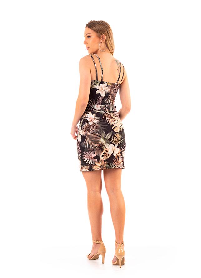 Vestido Dioxes feminino verão com cinto