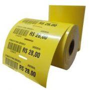 Etiqueta Adesiva Gondola 105x30mm (4 rolos com 1500 un. cada)