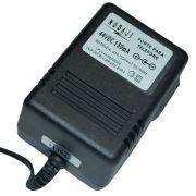 FONTE P/ TEL. - BIV. 44VDC 150MA - PLUG P4 180G (5,5 X 2,1MM) (-)