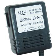 FONTE P/ TEL. S/ FIO PANASONIC KX-A11 - BIV. 12VDC 500MA - PLUG P4 90º (5,5 X 2,1MM) (-)
