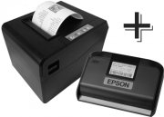 Kit: Sat Epson A10 + Impressora para cupom com guilhotina