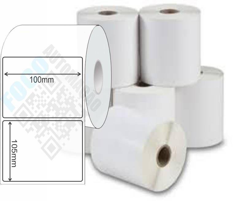Etiqueta Adesiva 100mm X 105mm (6 Rolos c/ 270 un. cada)