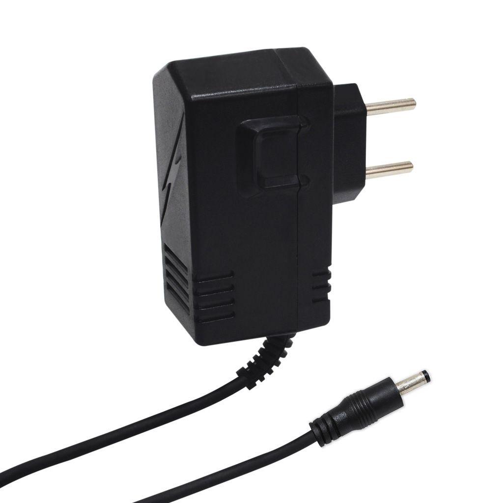 FONTE AUT.P/CFTV 12VDC 1A PLUG P4/8  180° (5,5X2,1MM) (+) (GL 5999 )