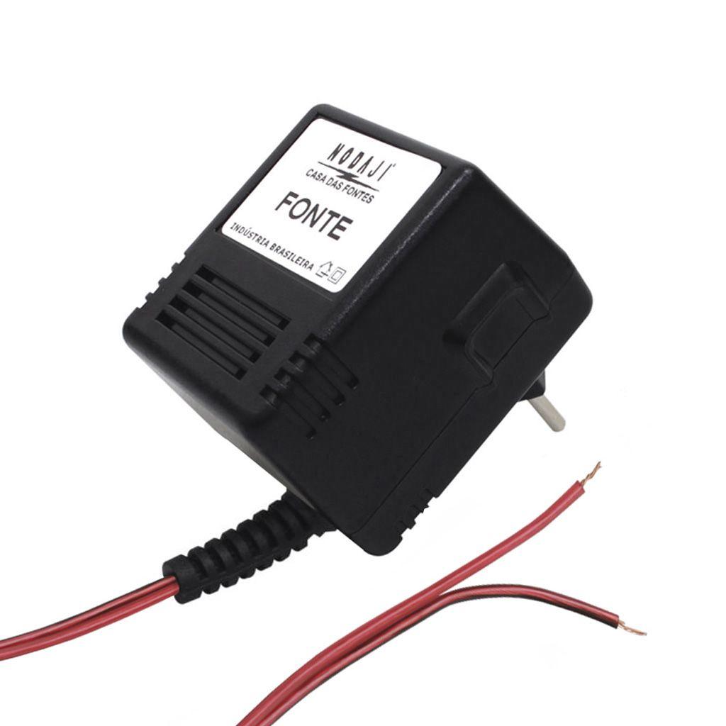FONTE P/ AQUECEDOR A GAS - BIV. 1,5VDC 500MA - S/ PLUG
