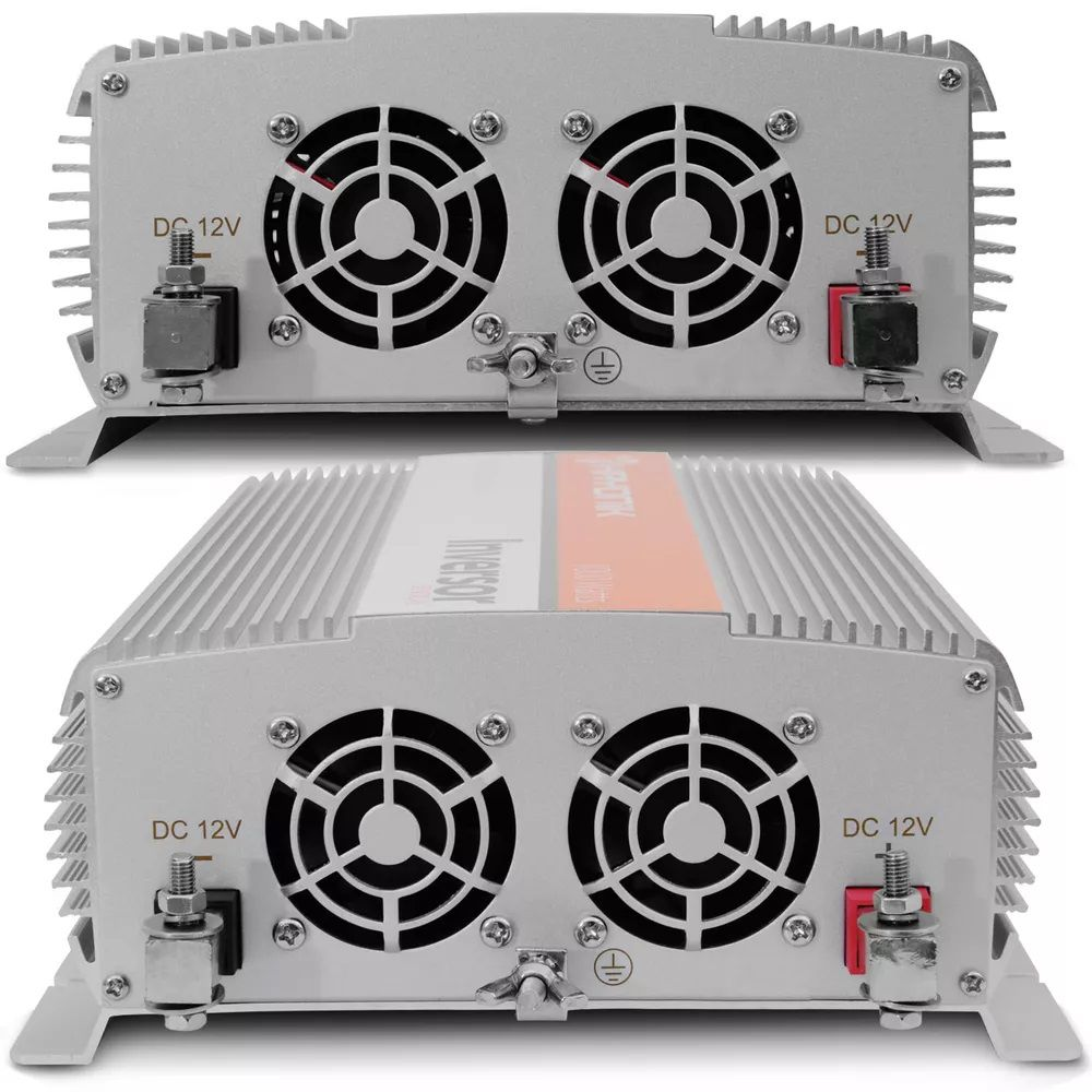 INVERSOR HAYONIK 1000W 12VDC/127V USB SENOIDAL