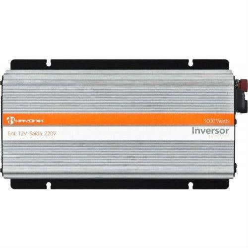 INVERSOR HAYONIK 1000W 12VDC/220V USB SENOIDAL