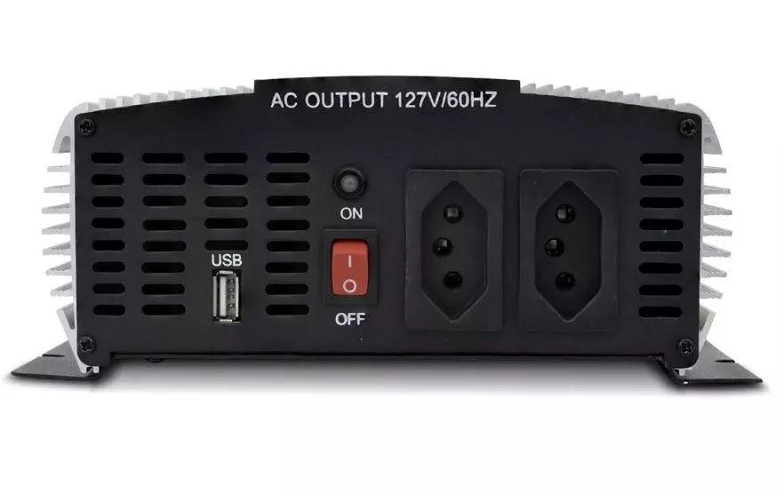INVERSOR HAYONIK 2000W 12VDC/110V USB SENOIDAL