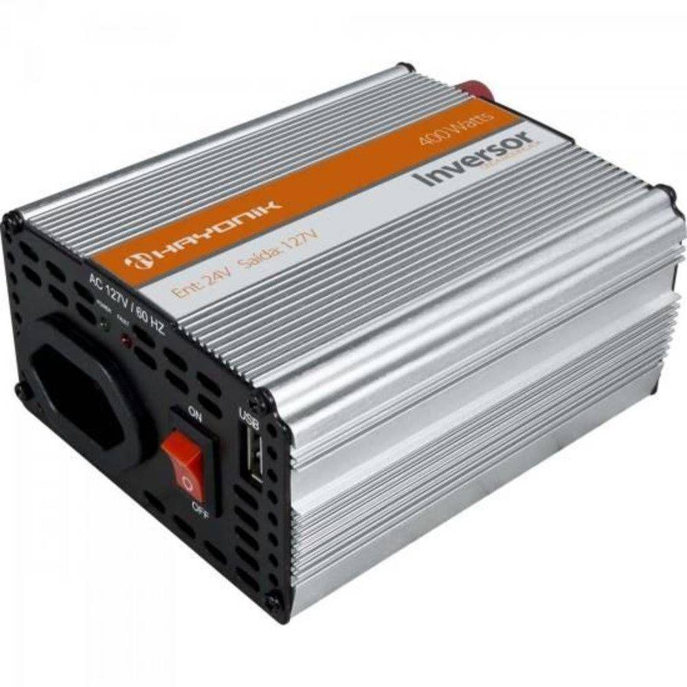 INVERSOR HAYONIK 400W 24VDC/127V UBS MODIFICADA