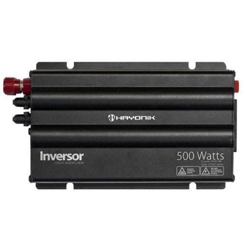 INVERSOR HAYONIK 500W 24VDC/127V USB MODIFICADA - GD