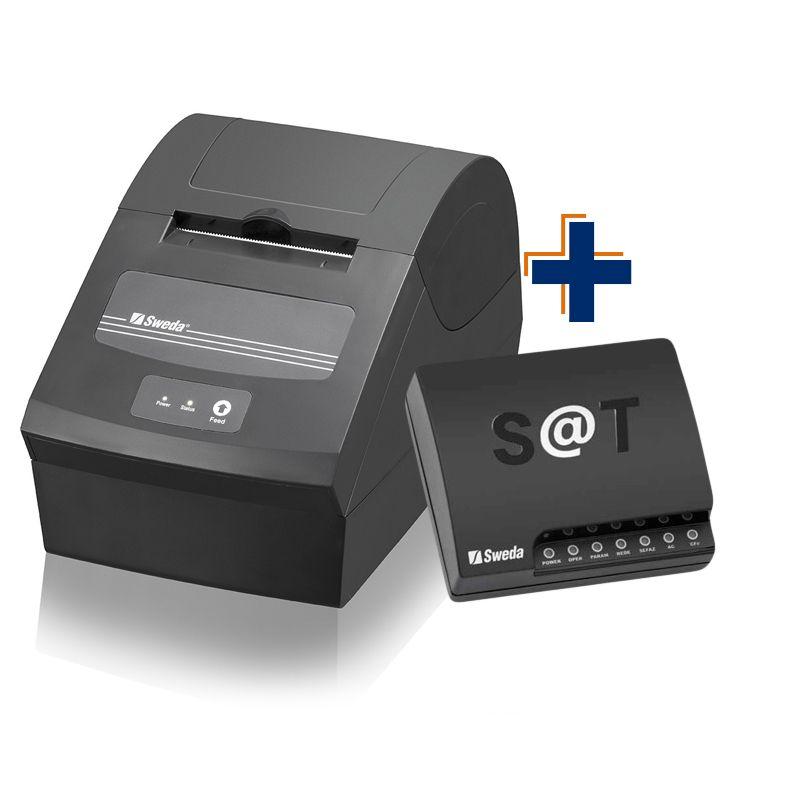 Kit: Sat Sweda SS1000 + Impressora Sweda SI-150