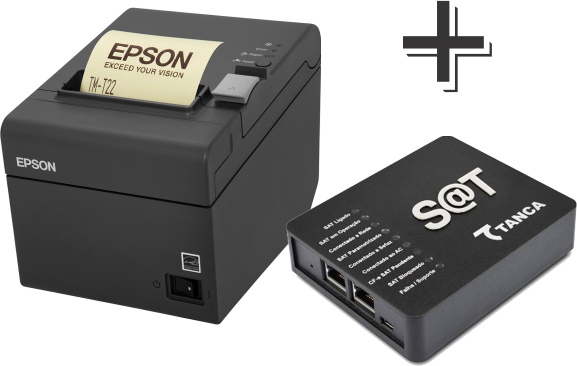 Kit: Sat Tanca + Impressora Epson TM-T20