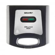SANDUICHEIRA MALLORY GRILLMAX - INOX E PRETA - 127V