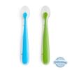 Colher Silicone Munchkin - Azul e Verde