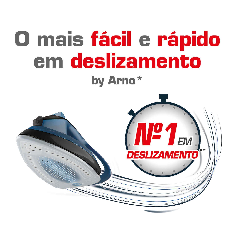 FERRO A VAPOR ARNO ULTRAGLISS FUA1 127V