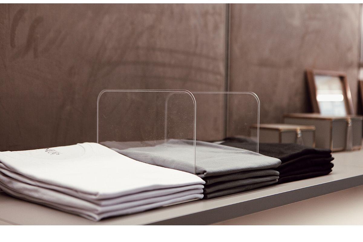 Divisórias de Camisetas - Kit 02 unidades