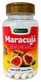Maracujá - Passiflora Alata - 120 cápsulas - Eurofito
