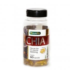 Óleo De Chia 1000mg - 60 cápsulas soft gel - Eurofito