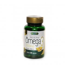 Omega 3 1000 Mg  - 60 cápsulas soft gel - Eurofito