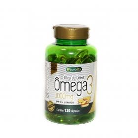 Omega 3 1000 Mg (Óleo De Peixe) - 120 cápsulas soft gel - Eurofito