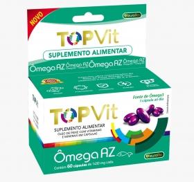 Top Vit Omega 3 1450mg (Polivitamínico ) 60 cápsulas- Eurofito