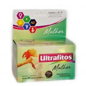 Ultrafitos Mulher 500mg (Polivitamínico) - 60 cápsulas -Ultrafitos