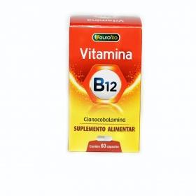 Vitamina B12 (Cianocobalamina) - 60 cápsulas - Eurofito