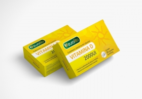 Vitamina D 2000UI 30 Cáps
