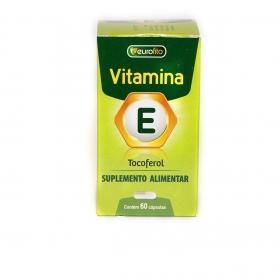 Vitamina E (Tocoferol) - 60 cápsulas - Eurofito