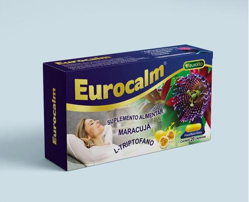Eurocalm 500mg 20 cáps - Eurofito