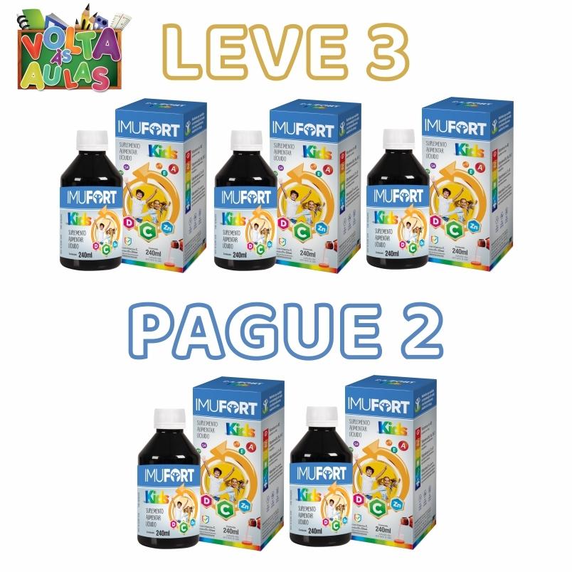 Imufort Kids | Leve 3 Pague 2
