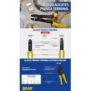 Alicate Prensa Terminal Hikari HK-410