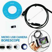 Câmera Inspeção Sonda Endoscópica Android e PC Windows