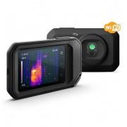 Câmera Termográfica Compacta 160 X 120 (19.200 pixels) c/MSX e Wi-Fi (-20 a 400 °C) Ignite™ Flir C5