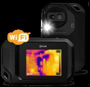 Câmera Termográfica Compacta 80 X 60 (4.800 pixels) c/MSX e Wi-Fi (-10º A +150ºC) Flir C3