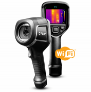 Câmera Térmica Termovisor 19.200 (160 × 120) pixels com MSX e WIFI Flir e5-XT
