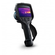 Câmera Termográfica Portátil 320 x 240 (76.800 pixels) c/MSX e Wi-Fi 1000 °C e76 24°